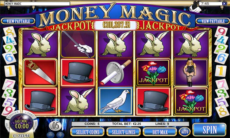 Money Magic Progressive Jackpot