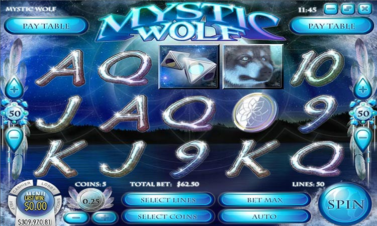 Mystic Wolf Video Pokie